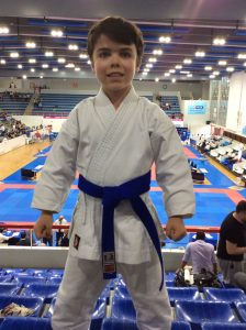 Gabriel VAZQUEZ, 5e Coupe de France Karate !