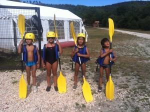 kayak stage baby karate