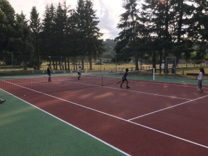 Tennis double stage karate 2018