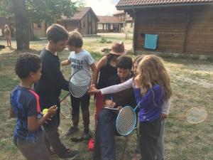 Badminton stage karaté 2018