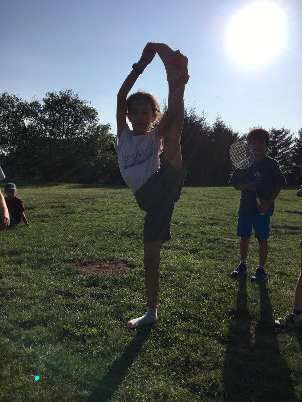 Camille gymnastique