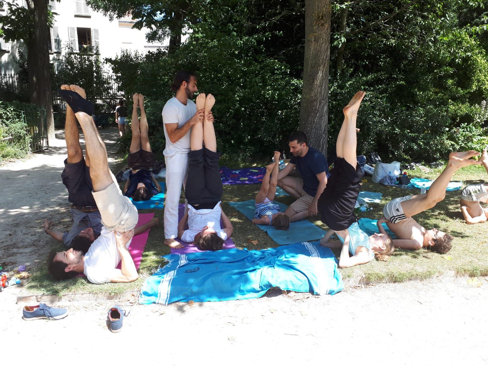 Yoga initiation pique-nique HKC
