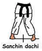 Sanchin Dachi