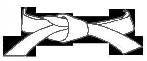 ceinture blanche