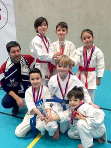 Equipe Kata Coupe Elite de Paris