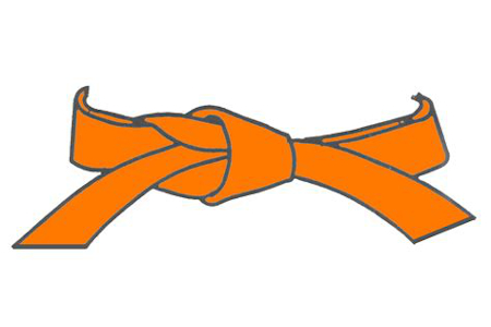ceinture orange