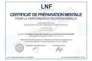 diplome website préparateur mental