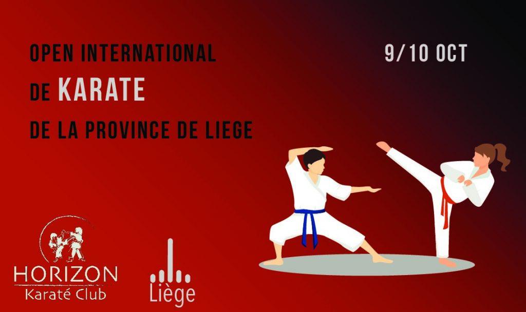 Open International de la Province de Liège du 8 au 10 Octobre